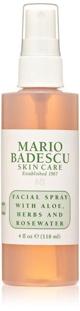 Mario Badescu Facial Spray with Aloe, Herbs and Rosewater, 4 fl. oz.