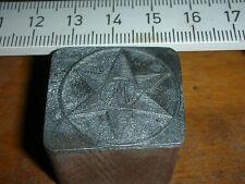 WMP LOGO    schöner Oldtimer Stempel / Siegel aus Metall