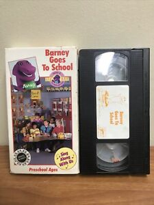 BARNEY GOES TO SCHOOL & The Backyard Gang Letters Colors ...