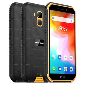 Unlocked Rugged Cell Phone 4G Android 10 16GB Dual SIM Waterproof Smartphone