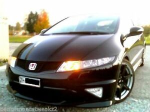 NEW JDM HONDA CIVIC FN2 TYPE R FRONT GRILLE/REAR BOOT RED ...