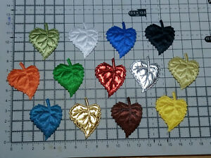 Leaf-Motif-for-Trimmings-Appliques-Wedding-30mm-x-40mm-Approx-13-Colour