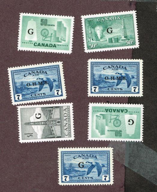 CANADA OFFICIALS OHMS ETC VF MLH   (MOV4,6
