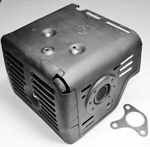 Honda-GX340-GX390-11-And-13hp-Muffler-with-Heat-Shield-Replaces-18310-ZE2-W61