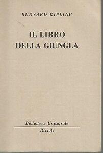 Rudyard-Kipling-Il-libro-della-giungla-1950-Rizzoli-BUR