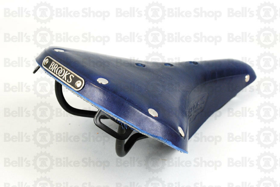 Brooks England B17 Standard Elektrisch bluee Bicycle Saddle Road Tour Commuter