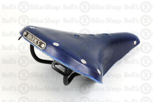Brooks England B17 Standard Electric Blue Bicycle Saddle Road Tour Commuter Bike