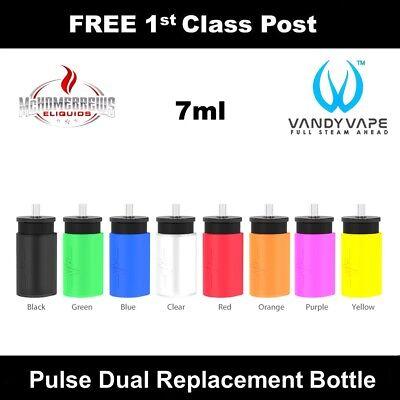 Vandy Vape Pulse Dual Kit Replacement 7ml Silicone Squonk Bottles | eBay