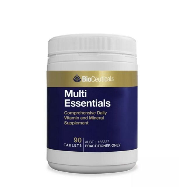 BioCeuticals Multi Vitamin & Mineral Essential 90 Tablets Daily Supplement