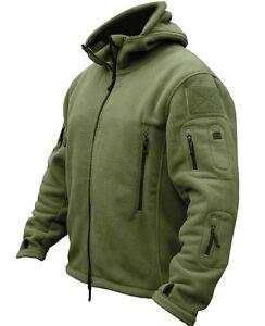 Tactical-Military-Combat-Recon-Zip-Fleece-Hoodie-Jacket-Army-Outdoor-Security