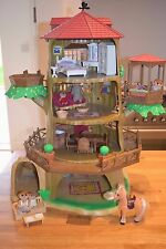 Sylvanian Families Old Oak Treehouse Plus Accessories & Figures