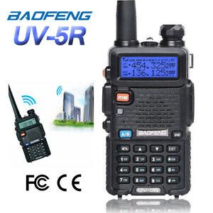 Baofeng-UV-5R-V-UHF-2m-70cm-Transceiver-DTMF-CTCSS-DualBand-FM-Ham-Two-way-Radio