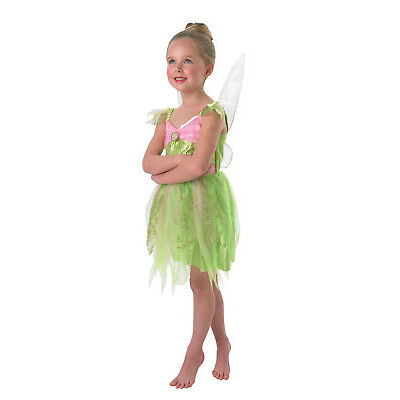 Rubie's Official, Tinkerbell Fairy Girls Book Week Costume with Light Up Wings