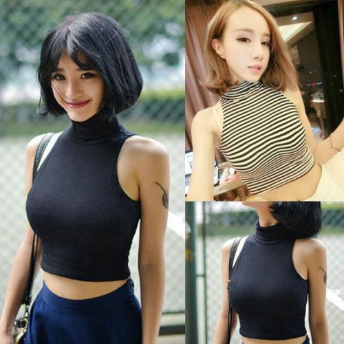Sexy Women's Tank Tops Bustier Bra Vest Crop Top Bralette Shirt Blouse Cami Tops