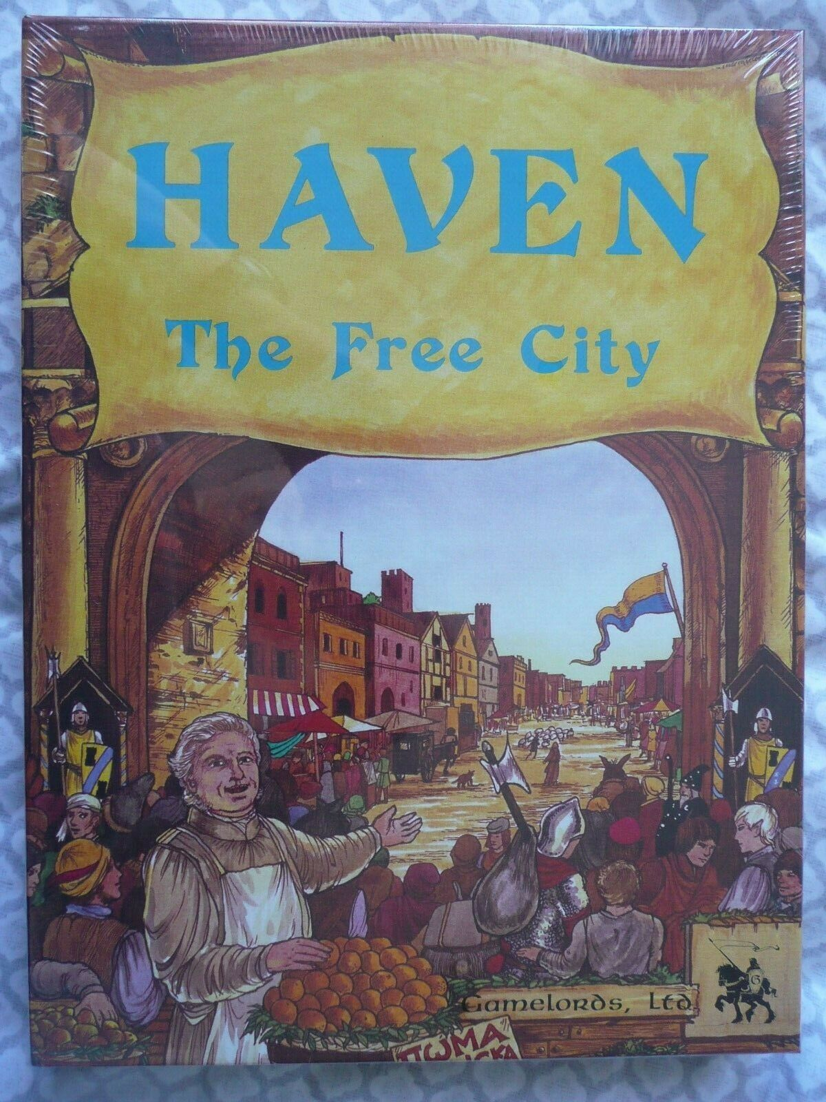 HAVEN THE FREE CITY (Gamelords 1984) • Thieves' Guild • M NM Unopened Unused