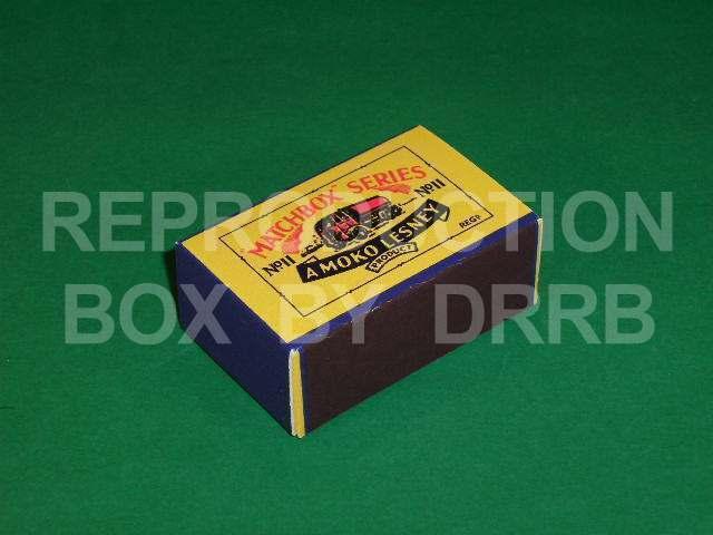 Matchbox 1-75  11a E.r.f. gasolina petrolero-Caja de reproducción por por por drrb 09153f