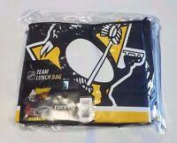 Pittsburgh Penguins Insulated Soft Side Lunch Bag Cooler Nhl - Big Logo
