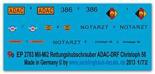 1/72 ep 2783 Mil Mi 2 ADAC - DRF Elicottero di salvataggio Christoph 50