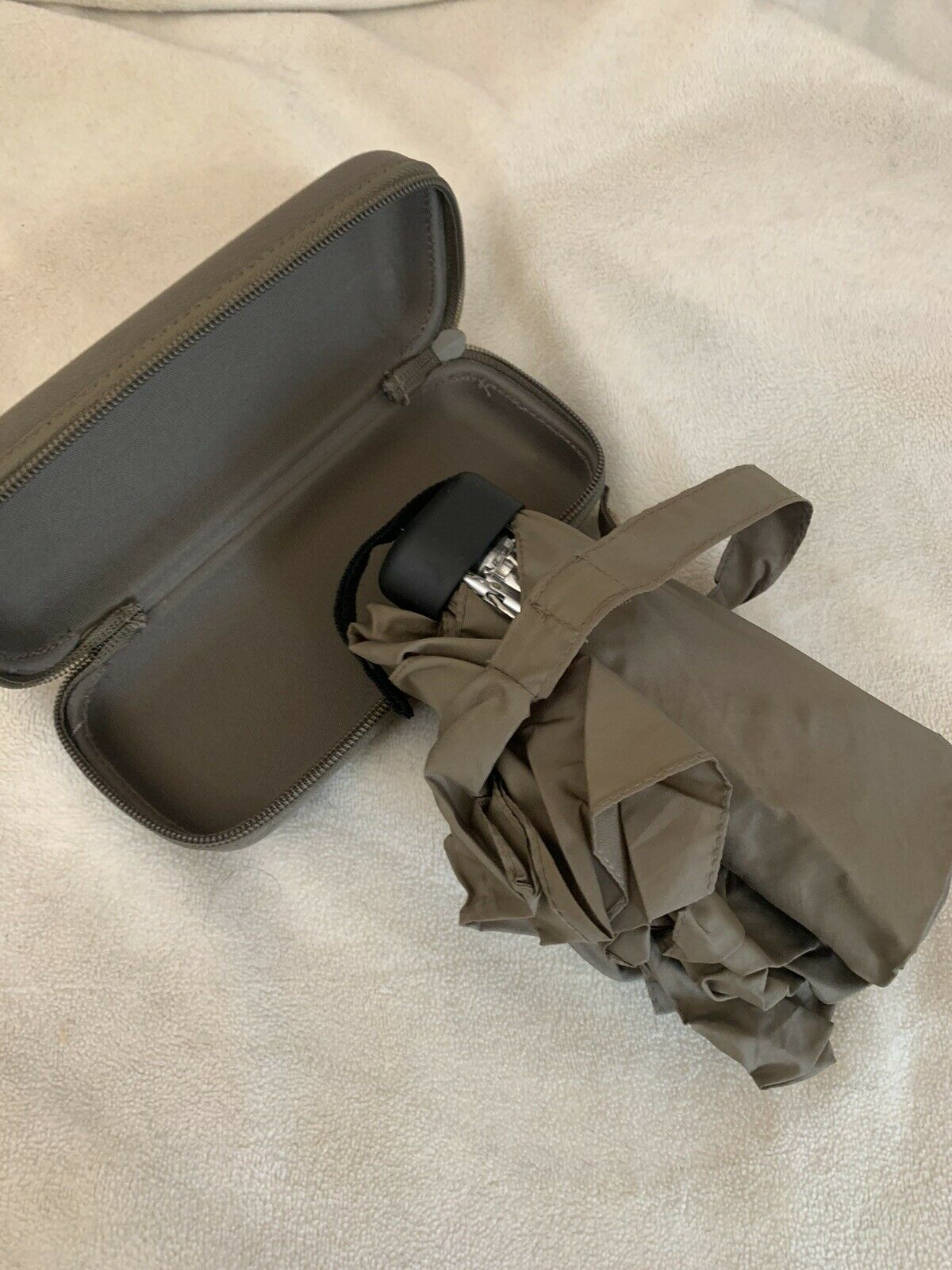 Mini Fold Umbrella With Case