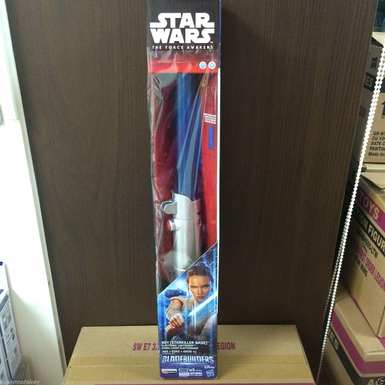 Hasbro - star - wars - rey (starkiller base] elektronische lichtschwert