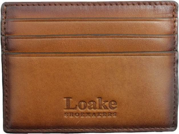 Loake Sterling Chestnut Card Holder