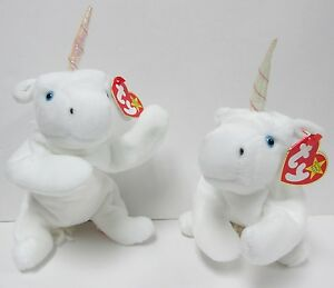 f1ccad34622 Image is loading Ty-Beanie-Baby-Mystic-the-Unicorn-Style-4007-