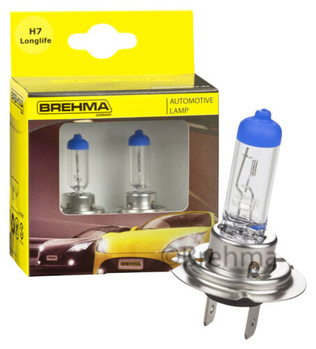 2er Set brehma h7 LONGLIFE ll 12v 55w px26d Alogena Auto Lampada Pera PERE