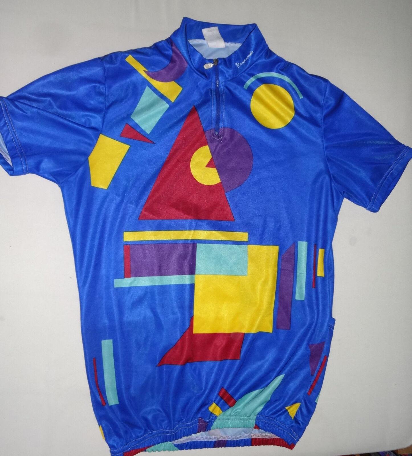 Campagnola Rennrad Fahrrad Mountainbike Trikot Gr. XL oder 5 in blue Campagnolo