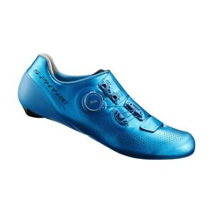 Shimano-S-Phyre-44-5-11-11-5-US-RC901T-Cycling-Shoe-Blue-Carbon-Track-Criterium