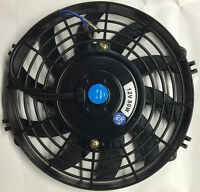 9 Inch Electric Radiator Cooling Fan Universal S-blade +mount Kit Free Ship