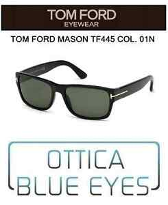 Occhiale-da-sole-Tom-Ford-mason-tf-445-01N-Sunglasses-FT-James-Bond-007-LUXURY
