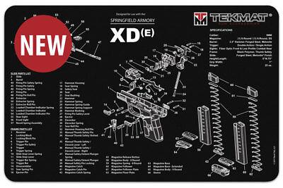 Tek Mat Springfield XDE  Armorers Gun Cleaning Bench Mat  New!