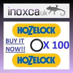 Fougueux 100 Hozelock / Gardena Tuyau De Jardin Connecteurs Joint Torique De Rechange Kit Hoselock!!-afficher Le Titre D'origine Emballage Fort