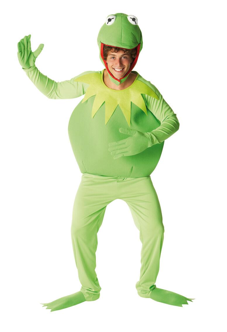 Carnaval Noël, et et et je suis charFemmet! Costume Carnevale Adulto Kermit Rana cartoni Muppets show rubies *15007 b4b77a