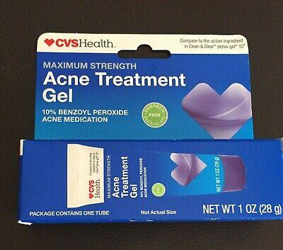 Cvs Health Acne Treatment Gel Maximum Strength 10 Benzoyl