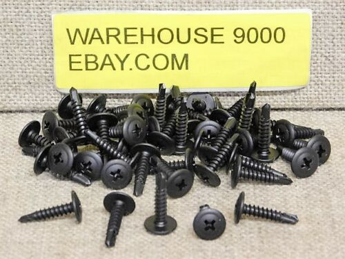 50 Phillips Round Washer Head with Teks Point Tapping Screws Auveco #17650 Auto