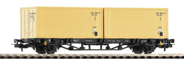 Piko 57791 Güterwagen Containertragwagen Lgs579 Lgs579 Lgs579 DR-Container H0 e8df75