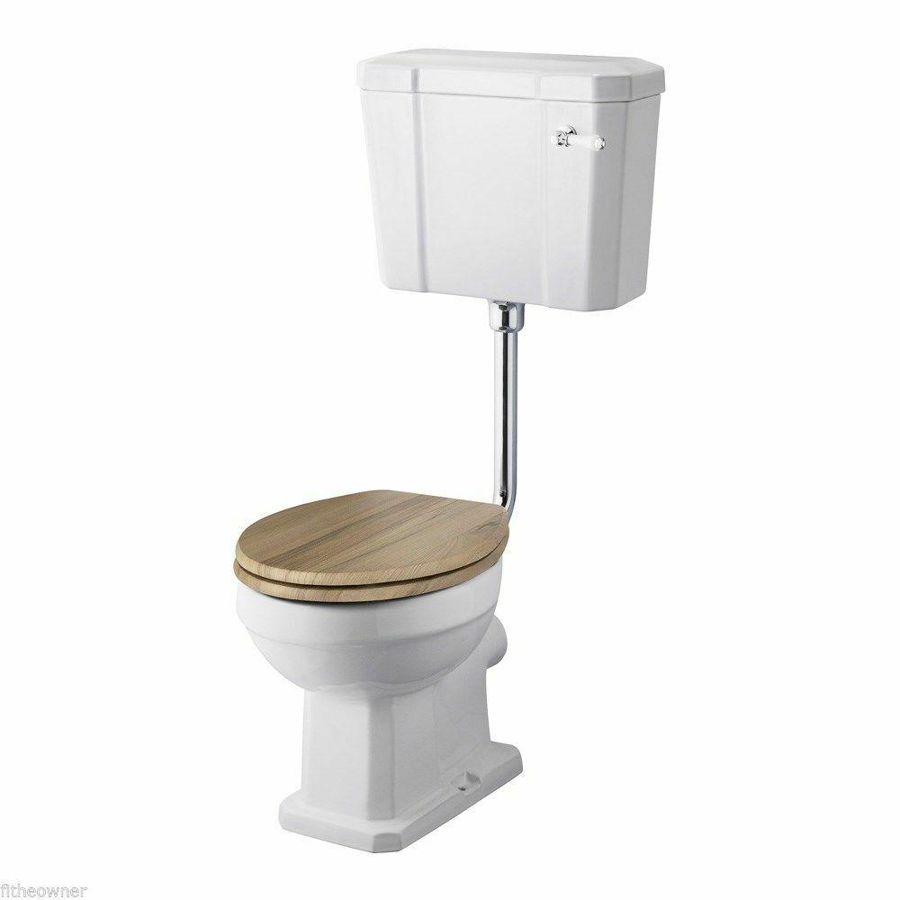 Flush Pipe Universal Flexible Fitting Toilet Cistern 800mm