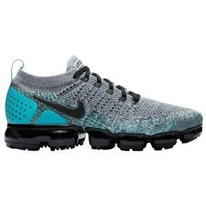 Details about Nike Air Vapormax Flyknit 2 Men's WhiteBlackDusty CactusHyper Jade 942842 104