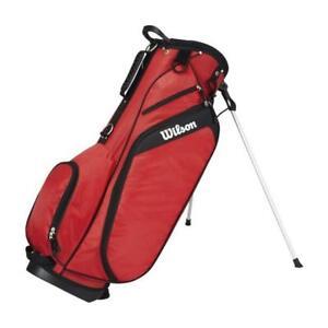 Wilson-Pro-Staff-Profile-Golfbag-Standbag-Carrybag-Tragebag-Golftasche-rot