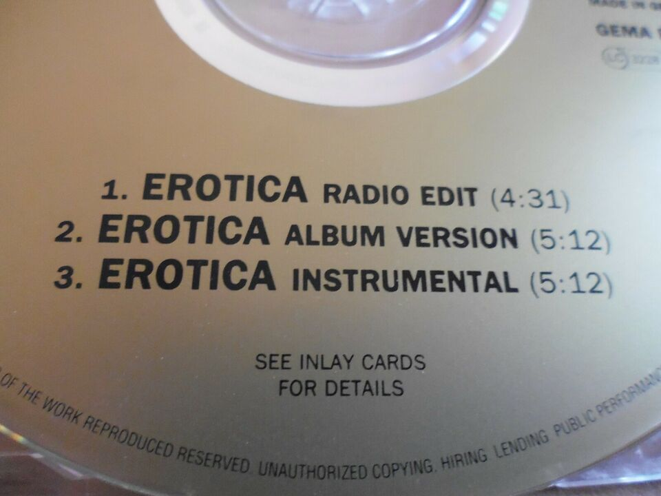 Madonna: 4 CD singler, pop