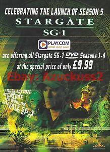 Stargate-SG-1-Seasons-1-4-2002-Magazine-Advert-7031