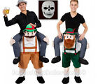 Hot Carry Me Bavarian Beer Guy Mascot Costume Oktoberfest Fancy Dress Halloween