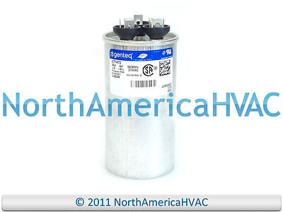 35 3 MFD at 370 volts replaces old GE# 97F9472BZ2 /& Z97F9472 GE Genteq Capacitor round 35//3 uf MFD 370 volt 97F9472