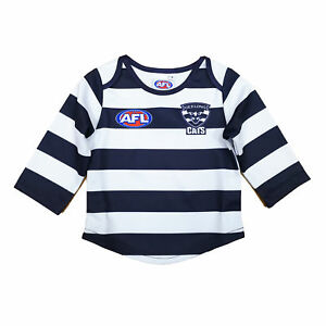 AFL-Footy-Geelong-Cats-Footy-Longsleeve-Baby-Toddlers-Jumper-Guernsey-Jersey