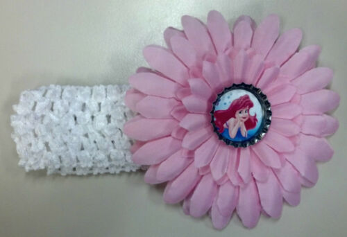 CHOICE of Ariel Cinderella Belle /& MORE NWOT Disney Princess Flower /& Headband