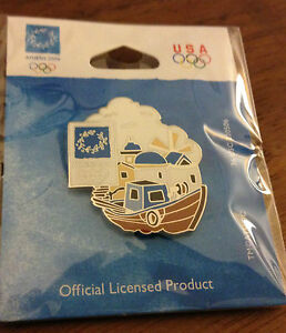 Athens 2004 Boat & Seaside Olympic Pin