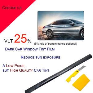 LIMO BLACK 5/% CAR WINDOW TINT 6M x 76CM FILM TINTING
