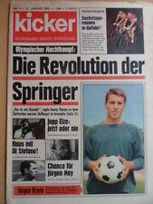 KICKER 4 - 22.1. 1968 Jürgen Rynio HSV-Nürnberg 3:1 Köln-Bayern 3:3 6-Tagerennen