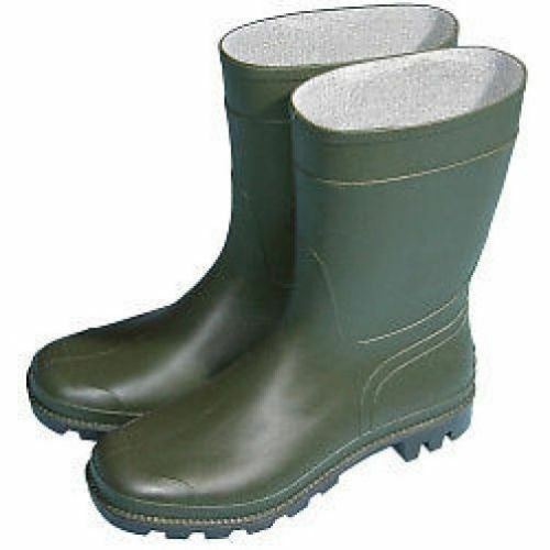 Town /& Country Essentials Half Length Green Wellington Boots Wellies Sizes 3-12